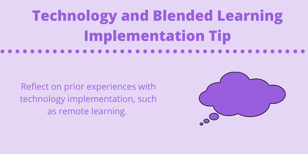 technology and blended learning