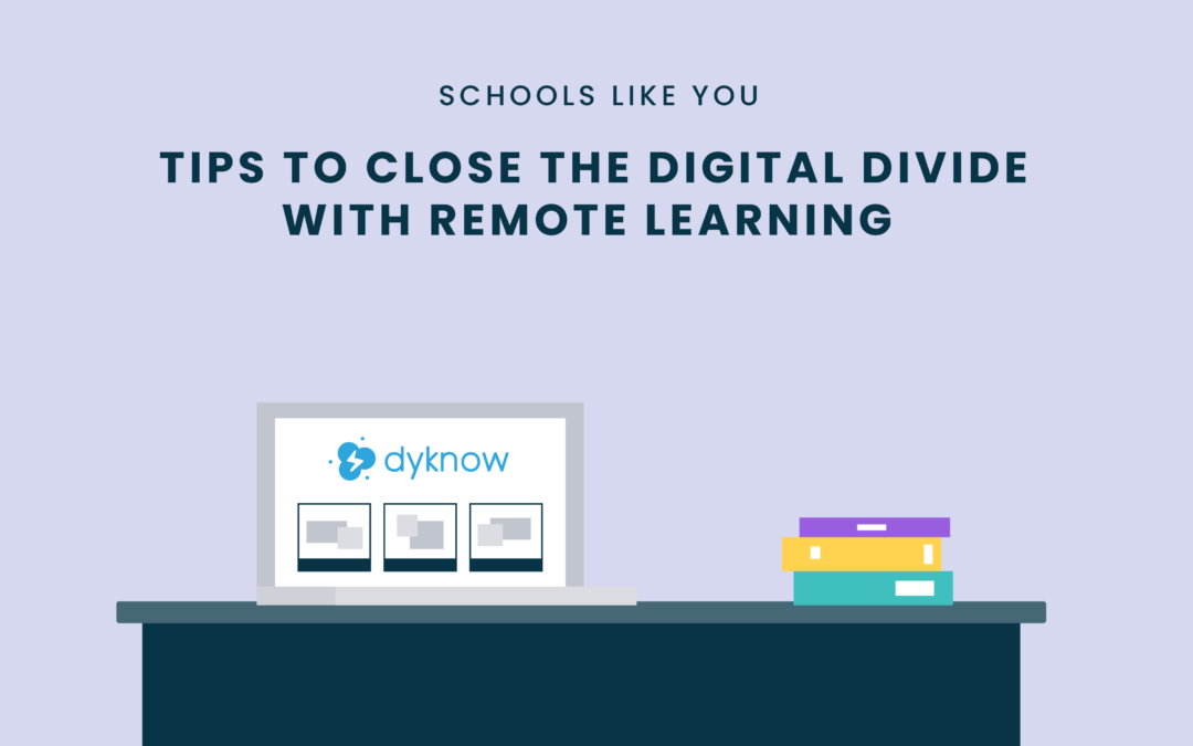 Tips to Close the Digital Divide with Remote Learning