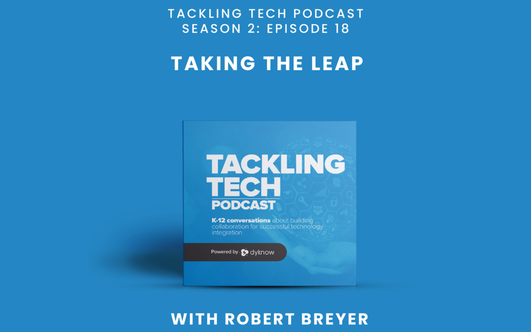 Taking the Leap with Robert Breyer