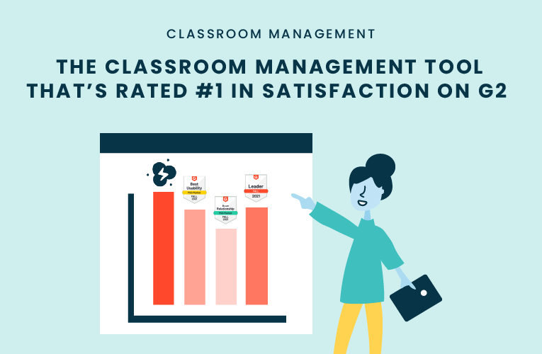 The Classroom Management Tool that's Rated #1 in Satisfaction on G2